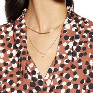 Halogen long sleeve blouse, polyester size M
